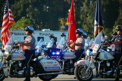 шествие мотоциклов церемонии начала Стоковое Фото