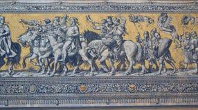 Шествие принцов в Дрезден Стоковое Фото