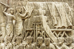 Шествие скульптуры торжества Стоковое Изображение