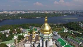 Шествие украинской православной церков церков патриархата Москвы 30 сток-видео