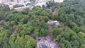 Шествие украинской православной церков церков патриархата Москвы акции видеоматериалы