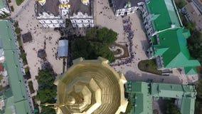 Шествие украинской православной церков церков патриархата Москвы сток-видео