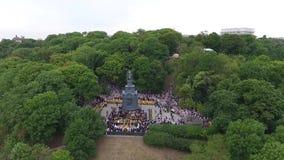 Шествие украинской православной церков церков патриархата Москвы видеоматериал