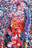 Шествие фонарика фестиваля красочное Стоковое Изображение RF