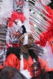 шествие luton costumes масленицы цветастое Стоковое фото RF