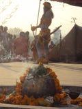 Шествие naga mela kumbh Бабы 14-ое апреля hardwar Стоковые Фотографии RF