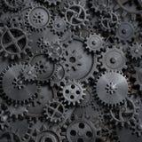 Шестерни и cogs испаряются панковская иллюстрация предпосылки 3d технологии иллюстрация штока