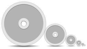 шестерни коробки передач конспекта 5 соединили Стоковая Фотография RF