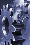 шестерни профилируют техническое Стоковое фото RF
