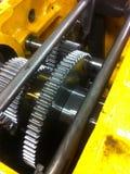 Шестерни шпоры Headstock токарного станка Стоковые Изображения RF