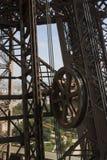 Шестерни Эйфелева башни стоковое фото rf