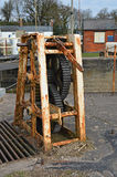Шестерни для шлюзных ворот стоковые фотографии rf