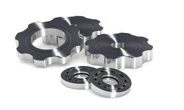 шестерни cogwheel шарового подшипника Стоковое Изображение RF