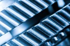 Шестерни, cogwheels grunge, реальная предпосылка элементов двигателя тяжело Стоковое Фото