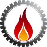 шестерня горячая Стоковые Фотографии RF