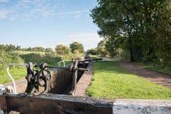 Шестерня замка канала Стоковое фото RF