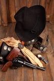 Шестерня ковбоя Стоковое Фото