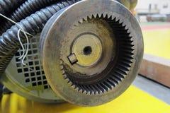 Шестерня мотора Стоковые Фото