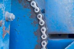 Шестерня от более старой части машинного оборудования (сельскохозяйственное оборудование) стоковое фото