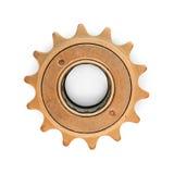 Шестерня покрашенная бронзой стоковое изображение rf