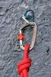 Шестерня скалолазания Стоковая Фотография