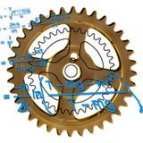 шестерня франтовская Стоковое фото RF