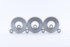 шестерня шестерен металла Стоковое Изображение