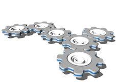 шестерня cogwheel Стоковые Изображения
