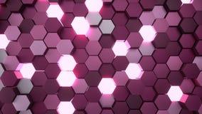 шестиугольная решетка 4K иллюстрация вектора