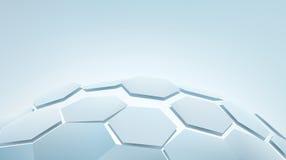 шестиугольники 3d Стоковая Фотография RF