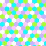 Шестиугольная безшовная картина вектора Стоковая Фотография RF