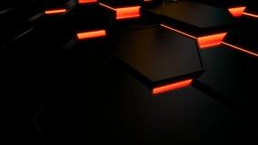 Шестиугольная плитка движения бесплатная иллюстрация