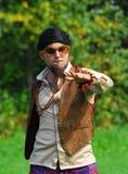 шестидесятые годы человека танцы ретро Стоковое Фото