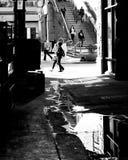 шестнадцатый мол улицы Стоковое фото RF
