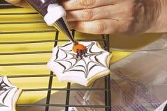 Шеф-повар делая печенья Стоковые Фото