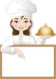 Шеф-повар женщины Стоковые Фото