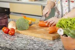 Шеф-повар женщины Стоковая Фотография