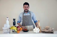Шеф-повар дилетанта Стоковое фото RF
