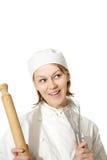 шеф-повар счастливый Стоковые Изображения RF