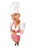 шеф-повар счастливый Стоковая Фотография