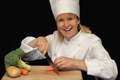 шеф-повар счастливый Стоковое Изображение RF