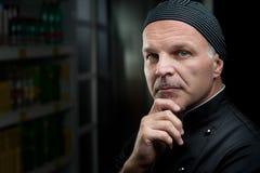 шеф-повар уверенно стоковая фотография rf