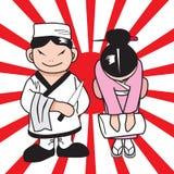 Шеф-повар японии Стоковые Изображения