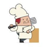 Шеф-повар Стоковое Изображение RF