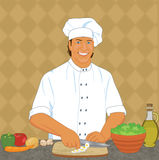 шеф-повар Стоковые Фотографии RF