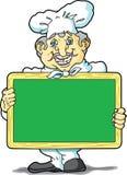 шеф-повар chalkboard бесплатная иллюстрация