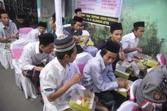 Шеф полиции Tito Karnavian посетил Pondok Pesantren Raudlatut Thalibin Rembang Стоковые Изображения RF