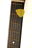 шея акустической гитары Стоковое фото RF