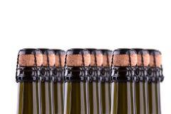 Шея бутылки шампанского Стоковое Изображение