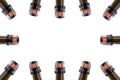 Шея бутылки шампанского Стоковая Фотография RF